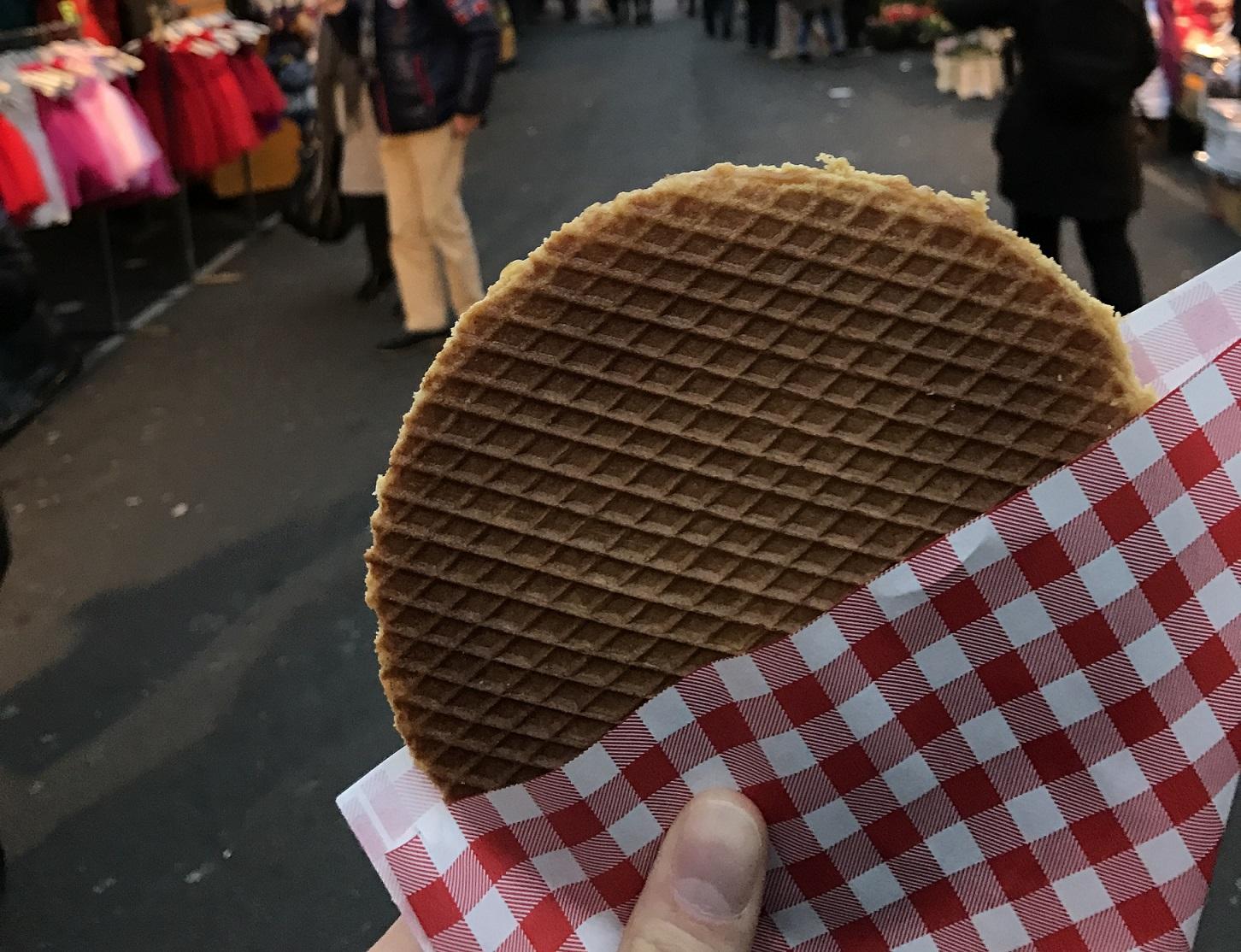 Local food in Amsterdam: Stroopwafel