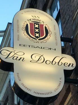 Bitterballen from Van Dobben, typical Dutch