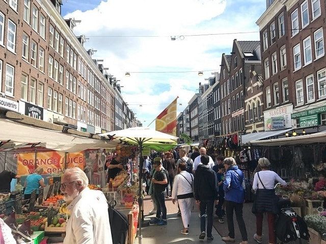Albert Cuyp Market - Local Market Amsterdam