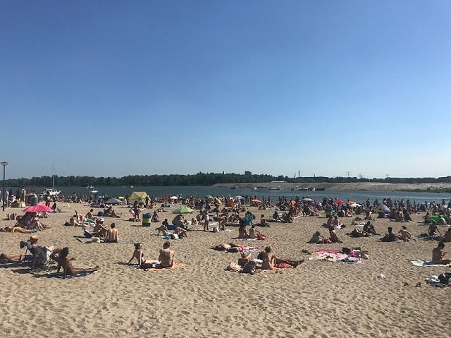 Free summer things in Amsterdam - Blijburg Beach - Amsterdams' nicest beach