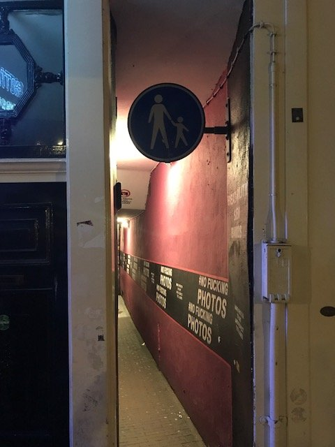 Smallest alley way - overnight layover Amsterdam