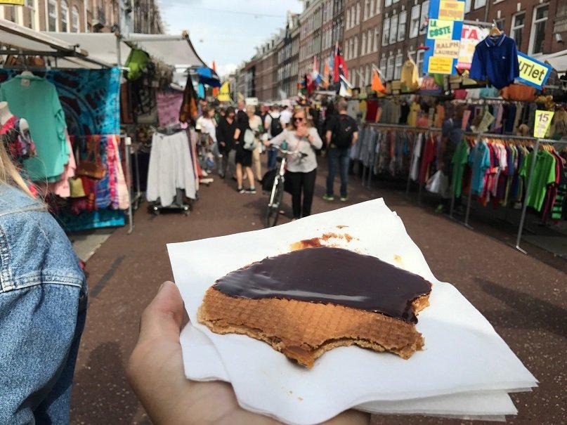 Stroopwafel - Local food Amsterdam
