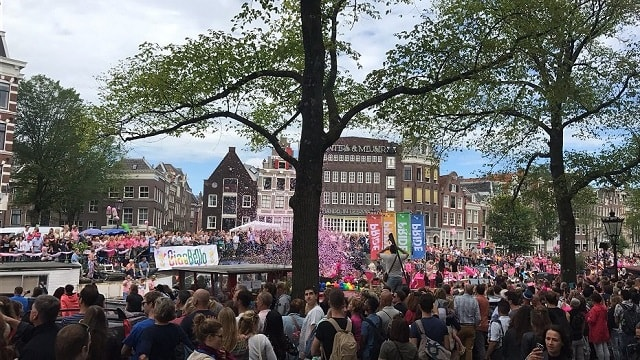 Pride Amsterdam celebrations