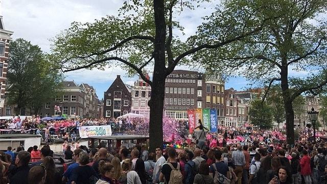 Pride Amsterdam celebrations