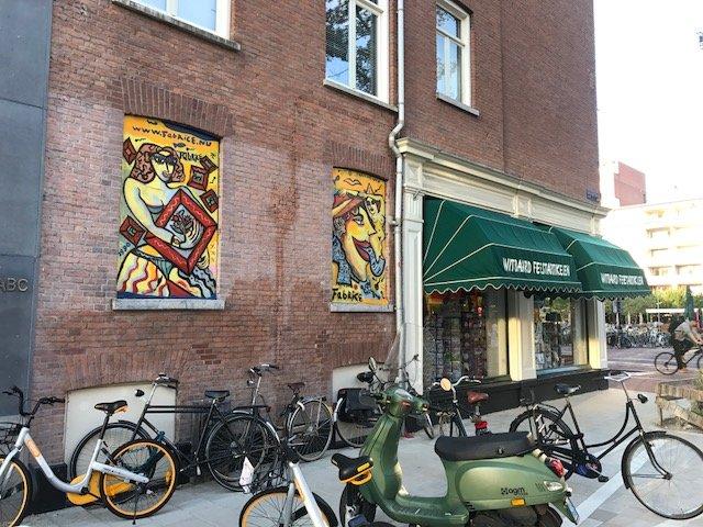 Street Art de Pijp - Free things the Dutch love