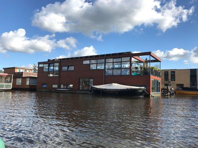 Big houseboat