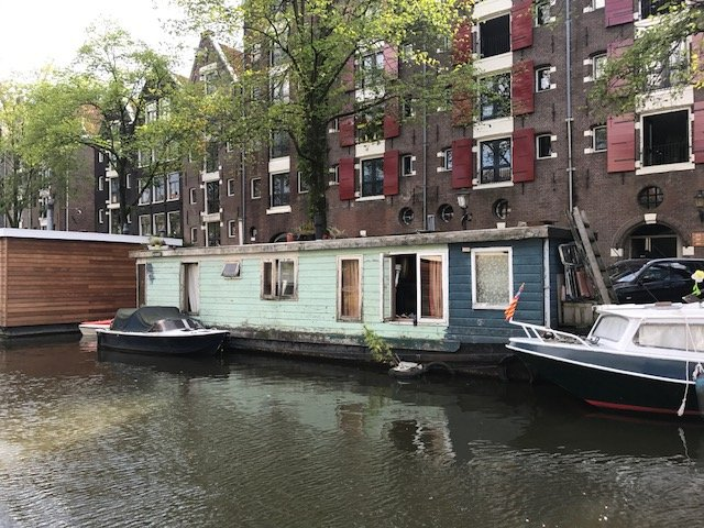 Houseboat needs maintenance too