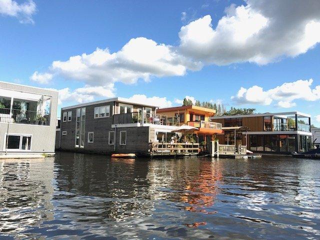 Houseboat neighbourhood