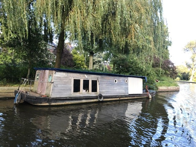 Self made Houseboat