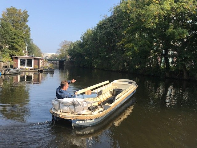Go boating Amsterdam