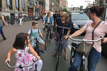See Amsterdam the local way with your family