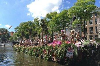 Go Dutch, go to the Canal Parade