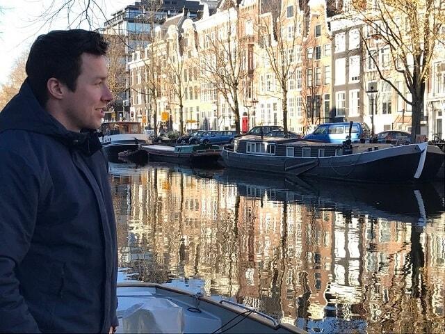 PJ at the Canals of Amsterdam - November 2016