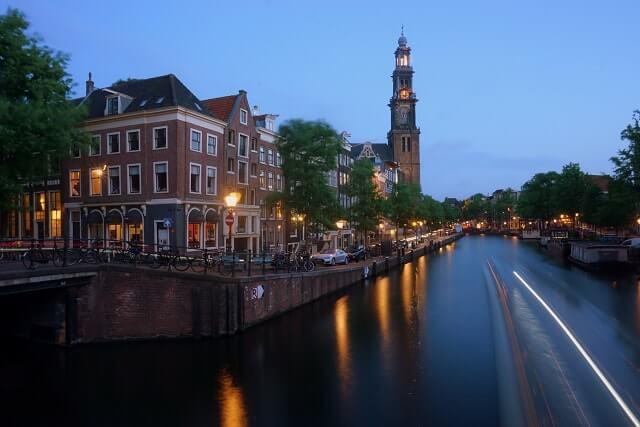 Beautiful bridge Amsterdam